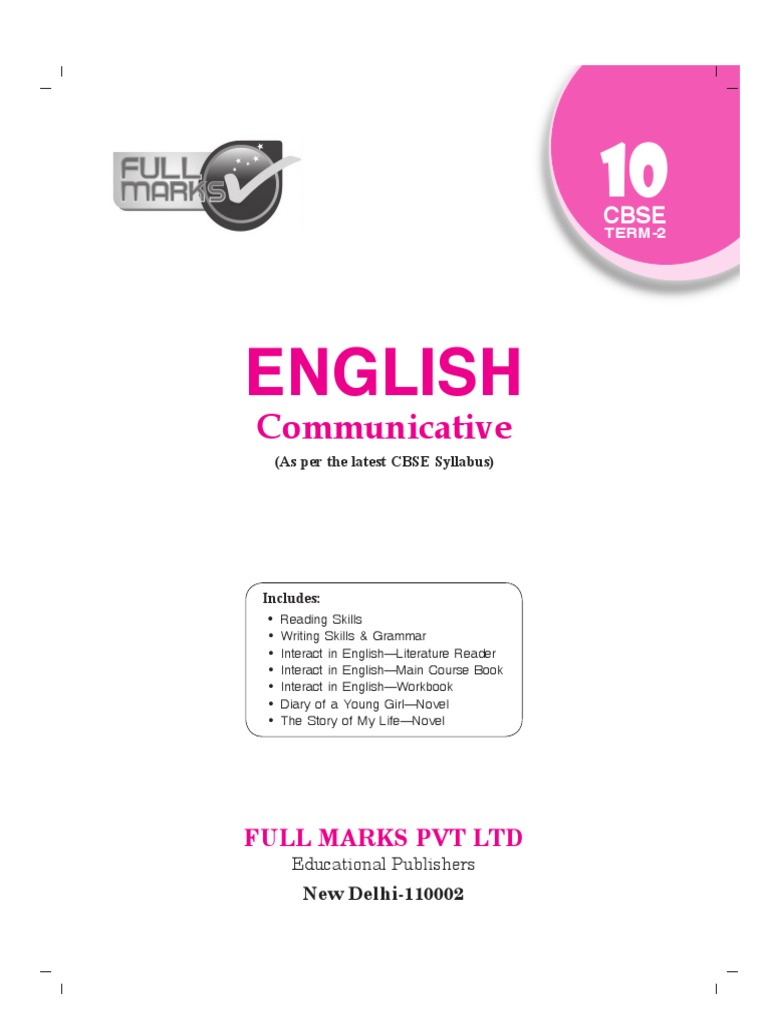 Cbse 9th English Main Course Book
