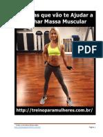 13 Dicas Para Ganhar Massa Muscular vol II