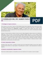 13 Consejos Del Dr. Hamer Para Sanarse 2