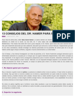 13 CONSEJOS DEL DR. HAMER PARA SANARSE 1.pdf