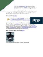 PIR Detectors