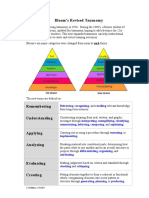 Blooms Revised Taxonomy 1