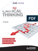 OCR ASA2 Critical Thinking My Revision Notes.pdf