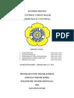 MAKALAH PENGENDALIAN PROSES, UMPAN BALIK (FEEDBACK).docx