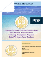PROPOSAL PENELITIAN - Mini Riset - Medical Representatives