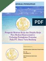 PROPOSAL PENELITIAN - Mini Riset - Medical Representatives