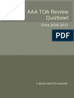 AAA TOA Review Quizbowl