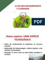 Aula 11 - Tecnologia Do DNA Recombinante