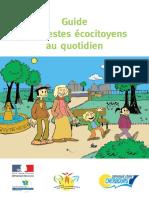 Guide Gestes Ecocitoyens