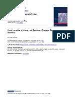 11_BURKE Peter_How to Write a History of Europe_Europe, Europes, Eurasia_European Review, 14-02, May 2006, 233-9