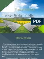 Celule Solare