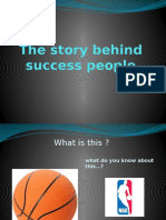 The Story Behind Success People