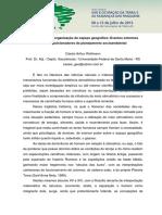 CASSIO-WOLLMAN Clima e a Des(Re)Organização Do Espaço Geográfico Eventos Extremos