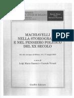 Bassani - Burgerhumanismus_e_repubblicanesimo; il Machiavelli di Baron y Pocock.pdf