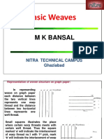Textile Weave Structures