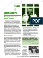 Prisoners Fact Sheet - PALESTINE