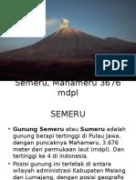 Semeru, Mahameru 3676 mdpl.pptx