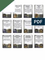 Cartas de Ação Imperial