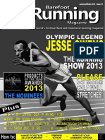 Barefoot Running Magazine Issue 10 - Autumn-Winter 2013