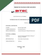 Informe de Practicas en La Academia Cicerón-Judith Quezada Campos