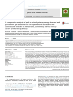 A Comparative Analysis of Well-To-wheel Primary Energy Demand and Greenhouse Gas Alternative Fuel Vehicles in Switzerland