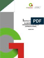 Instructivo Para La Elaboración Del Diagnóstico de Salud Jurisdiccional