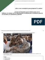 Crisis PSOE_ Ferraz Convoca El Miércoles a Sus Consejeros Para Preparar La Cumbre de Presidentes