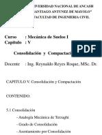 Cap v - Consolidación - Compactación