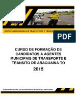 Apostila AMTT Completa Agentes 2015 - Tocantins