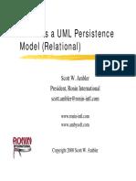 4-3 Ambler - Ambler_UML_Persistence