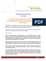 Outsourcing Software Development With IPR Protection