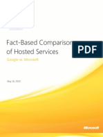 Hosted Services Comparison Whitepaper - Google vs Microsoft