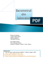 Prezentare_Barometrul Din Laborator