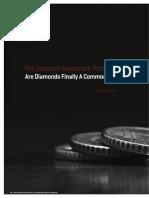 The Diamond Investment-Promise-IDEX Magazine Focus-August 2012