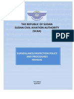 Surveillance Policy and Procedures Manual