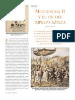 Moctezuma II y El Fin Del Imperio Azteca