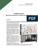 Turbina Gas - Practica Laboratorio