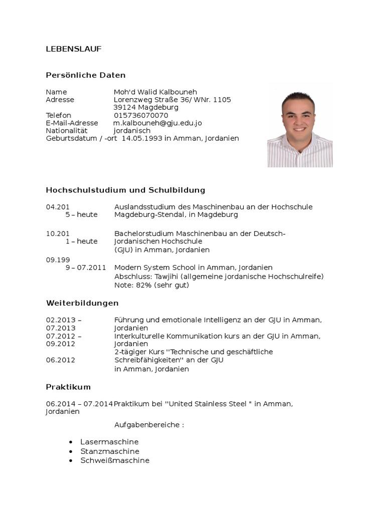 lebenslauf 2 www - Lebenslauf Bis Heute