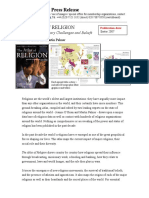 Atlas of Religion Press Release
