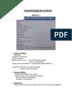 Rheumatological System
