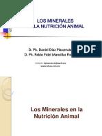 Los Minerales en La Nutricion Animal