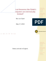 Slides Gödels Incompleteness Theorems
