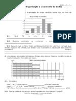 Ficha Nº6 Organização e Tratamento de Dados