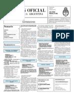 Boletin Oficial 28-06-10 - Tercera Seccion