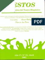 tesis para el análisis del texto dramático