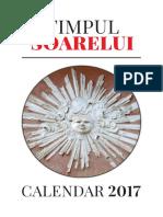 Timpul Soarelui Calendar 2017