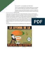 La Leyenda de La Papaya Salvietti