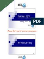 ISO 9001 Training Slides