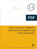 (Jewish and Christian Text) Lee Martin McDonald, James H. Charlesworth-_Non-canonical_ Religious Texts in Early Judaism and Early Christianity-Bloomsbury T&T Clark (2014)