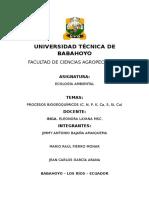 PROCESOS-BIOGEOQUIMICOS